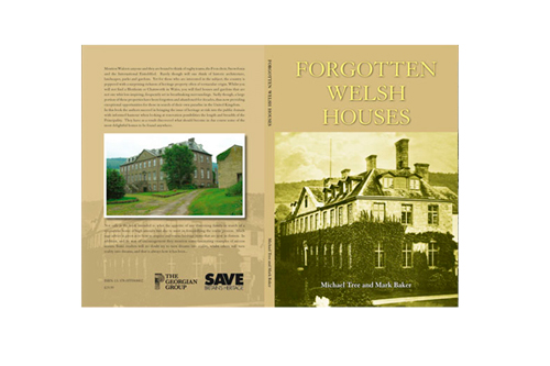 Forgotten Welsh Houses Book Design and Layout