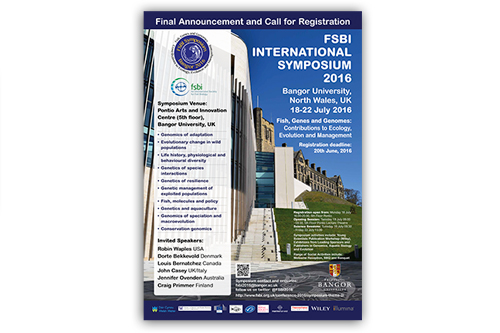 Range of material for International Symposium